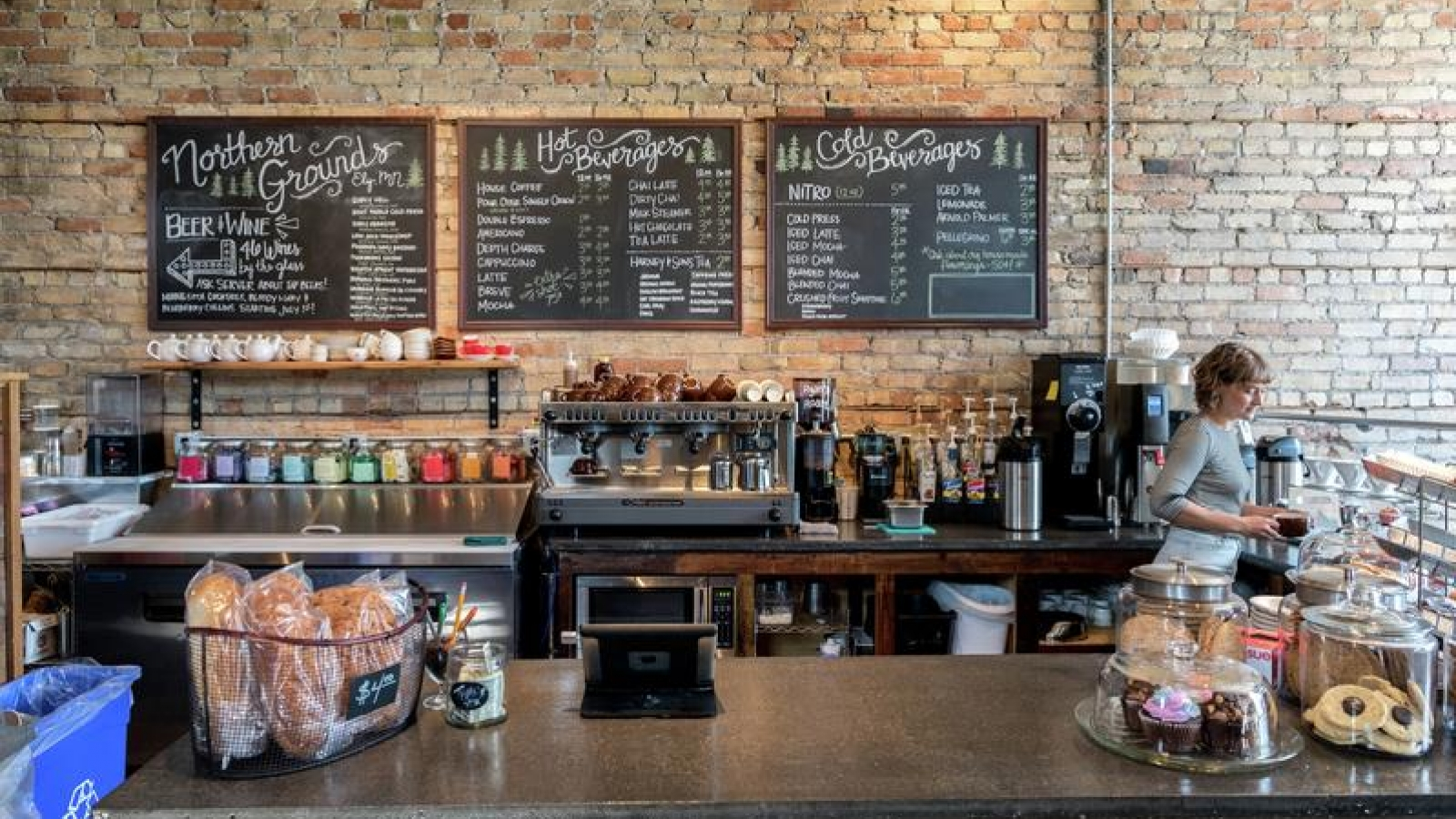 coffee shop bar