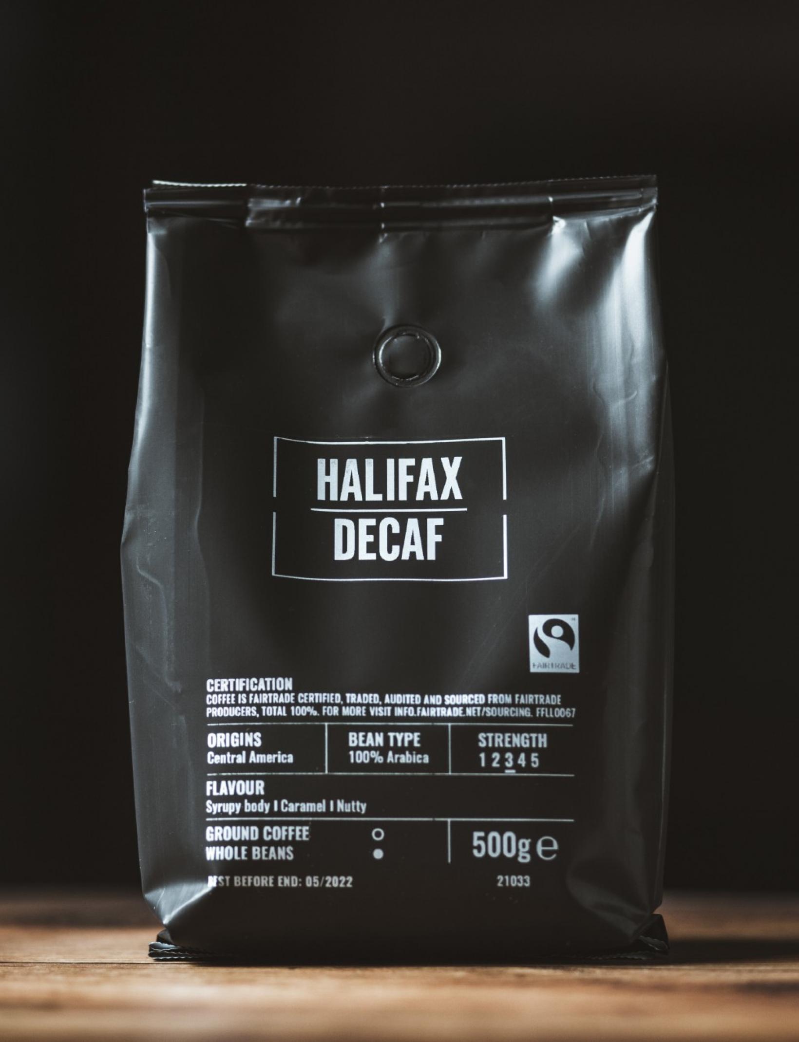 Halifax Decaf Beans