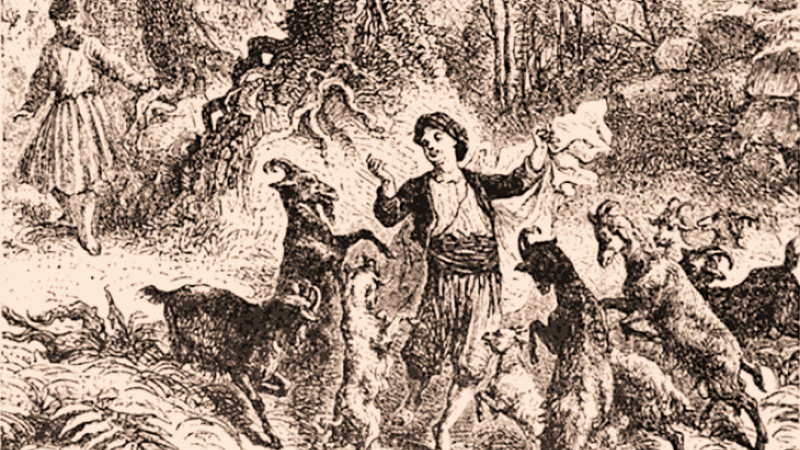 Kaldi and his dancing goats
